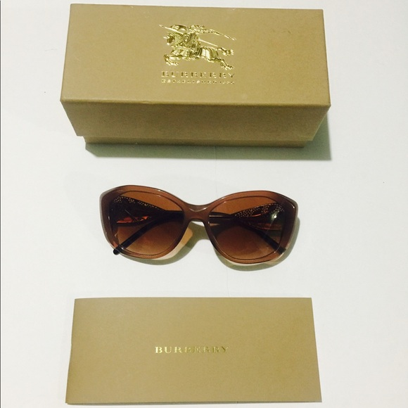 ebd26470a5 Burberry Accessories - Burberry Gabardine Sunglasses Lace Collection